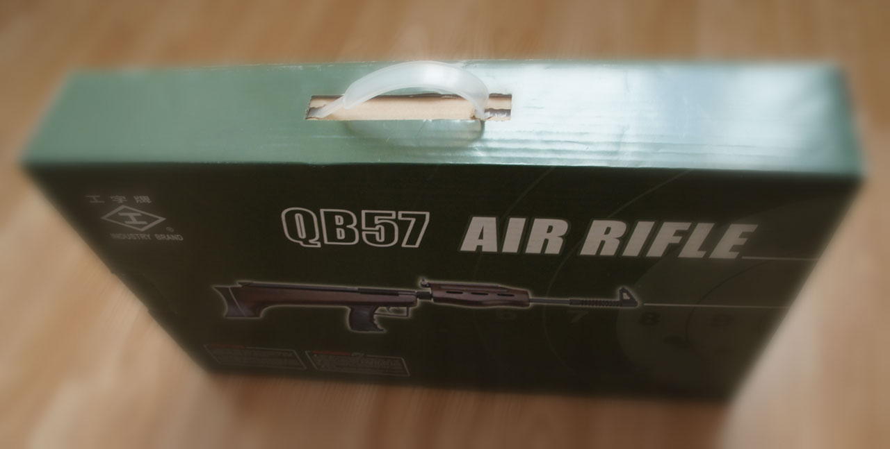 QB57 - nowy pudełko