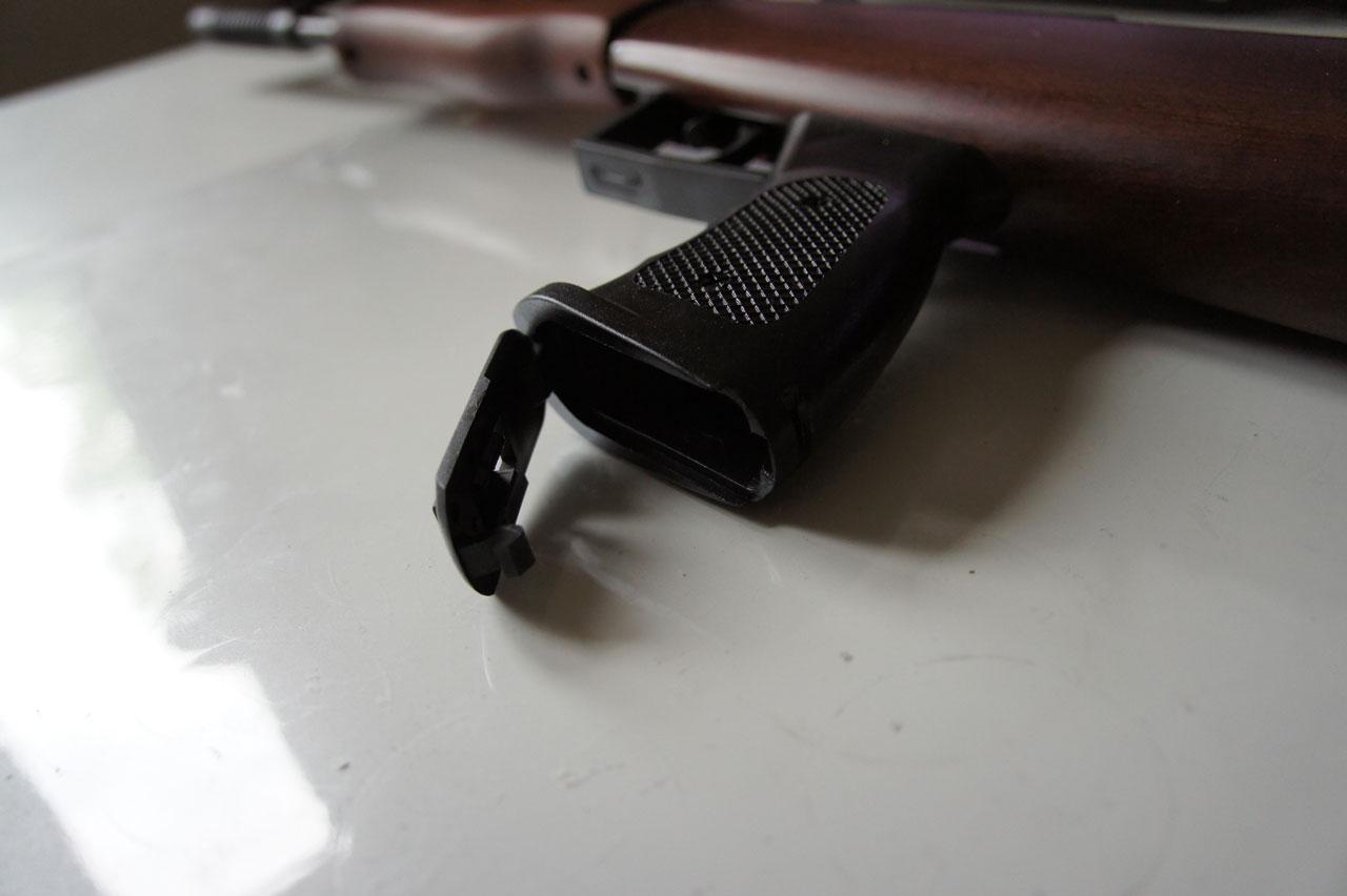 QB57 chwyt pistoletowy pojemnik na śrut