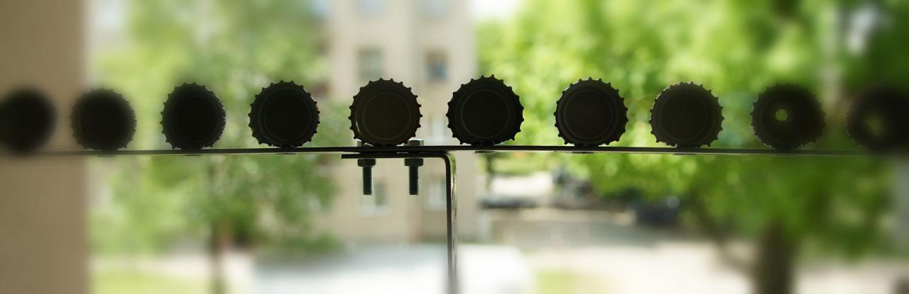 stojak magnetyczny diy - cele do wiatrówek