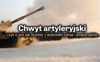 Chwyt artyleryjski i statywy – czyli jak strzelać celnie i powtarzalnie