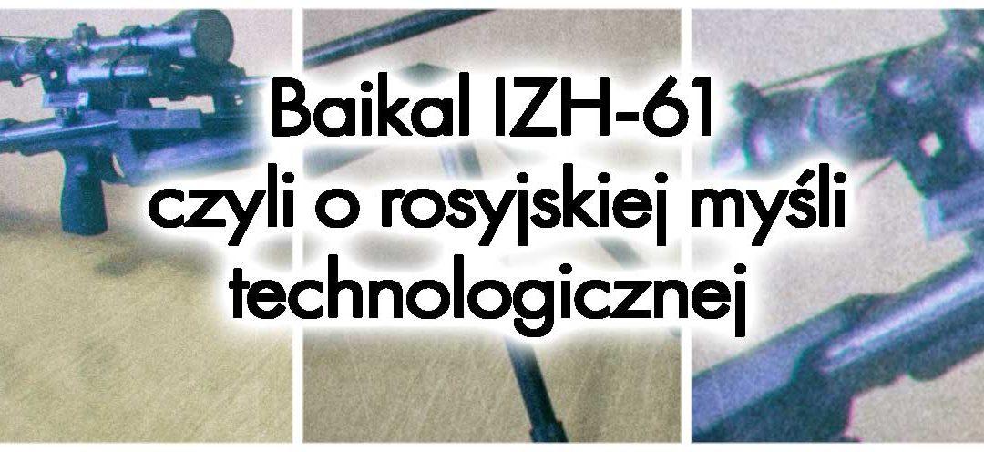 Bajkał IZH-61 – czyli jak nauczyć się cyrylicy w 30 dni