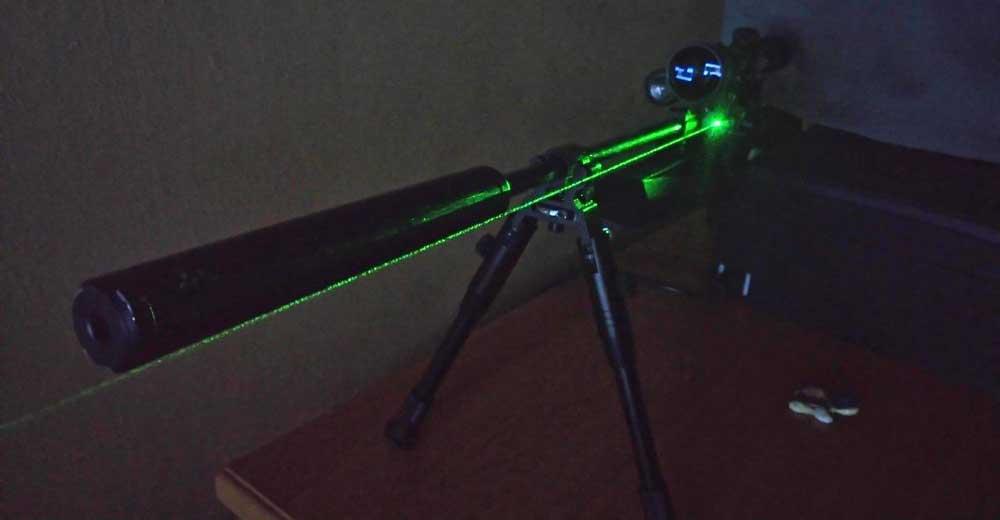 baikal izh-61 laser luneta tlumik