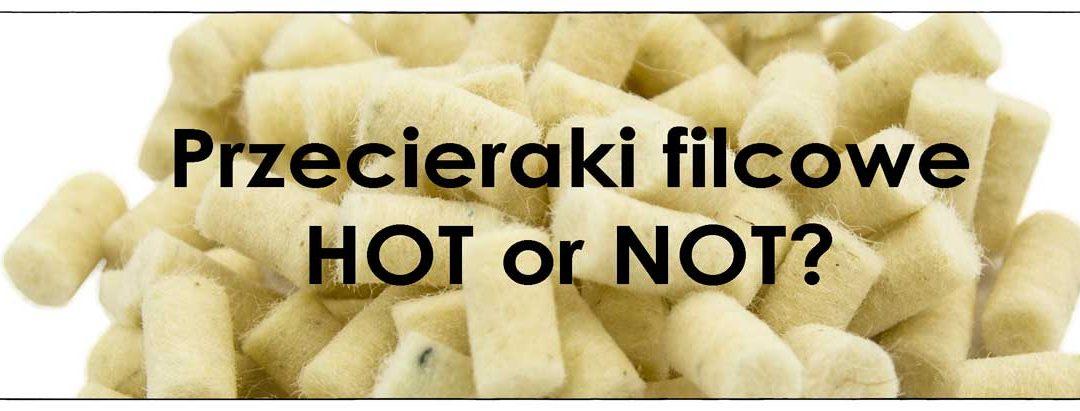 Przecieraki filcowe – hot or not?