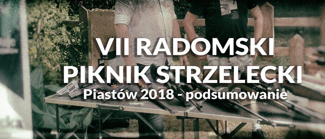VII Radomski Piknik Strzelecki – Piastów 2018