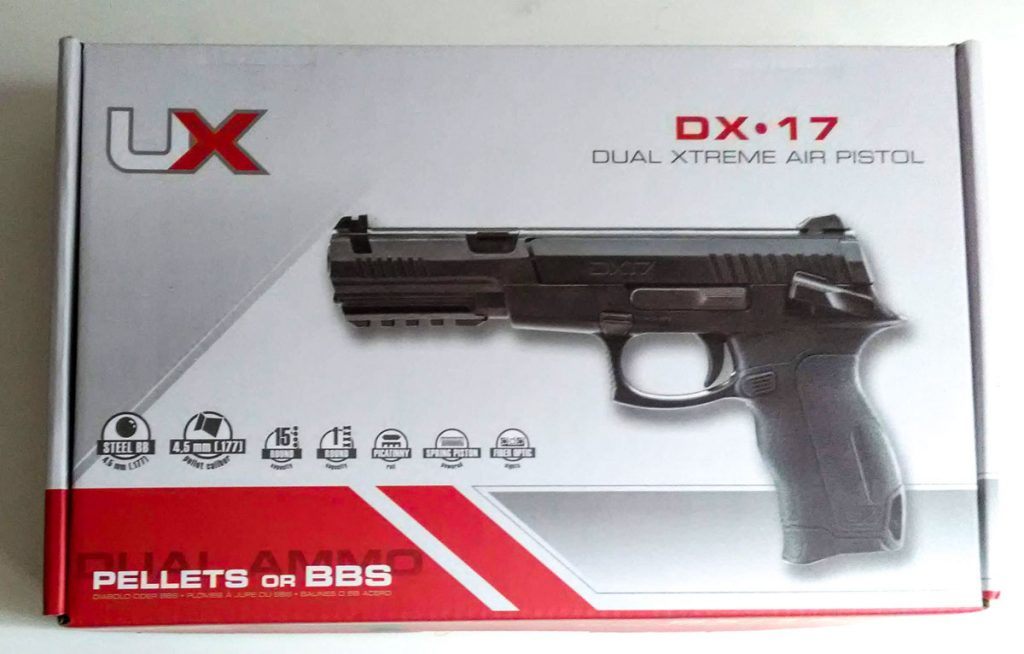 umarex dx17 packshot