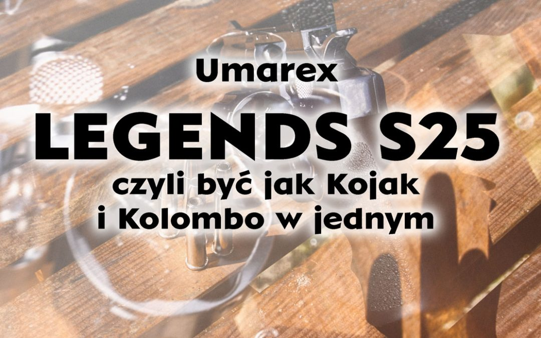 Umarex Legends S25 – jak z filmu policyjnego