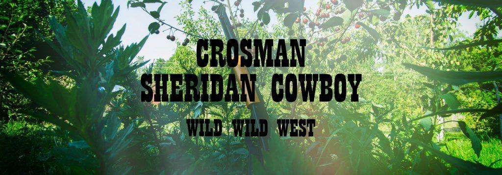 Crosman Sheridan Cowboy pierwsza wiatrówka