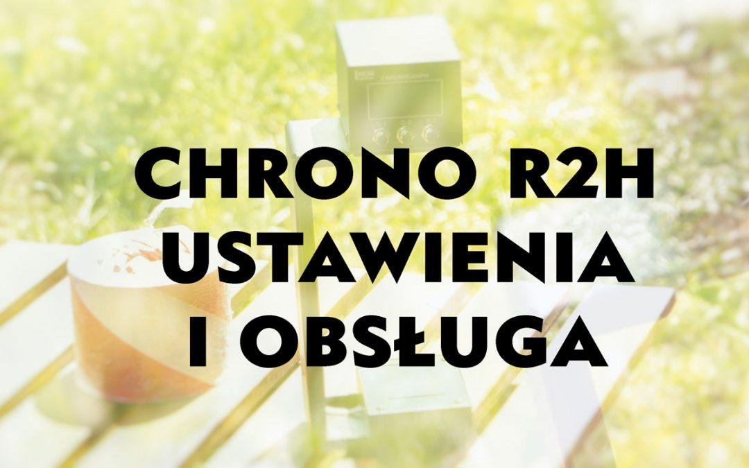 Chrono R2H isntrukcja obsługi i diagnostyka